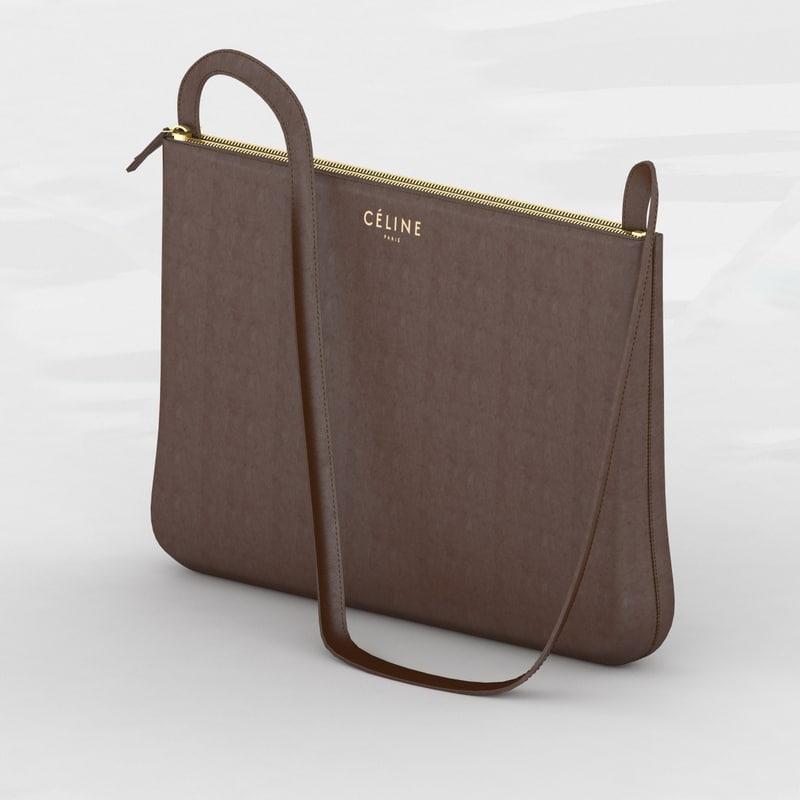 3d fashion bag model