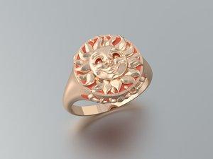 3d sunlight ring