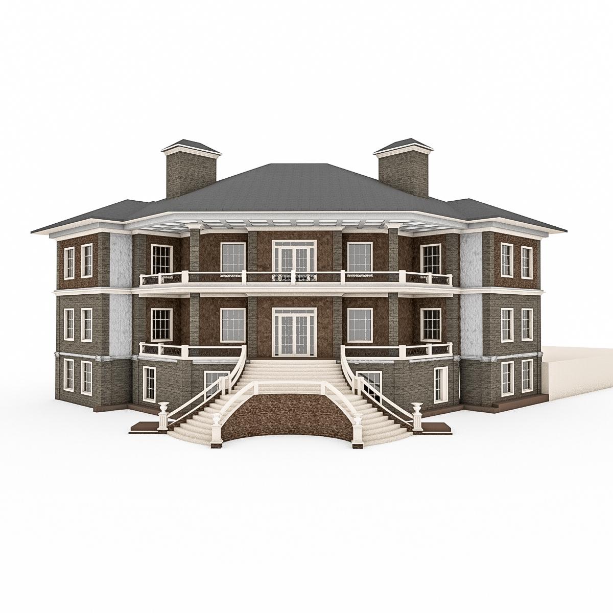 Gran Casa De Piedra Con Terraza