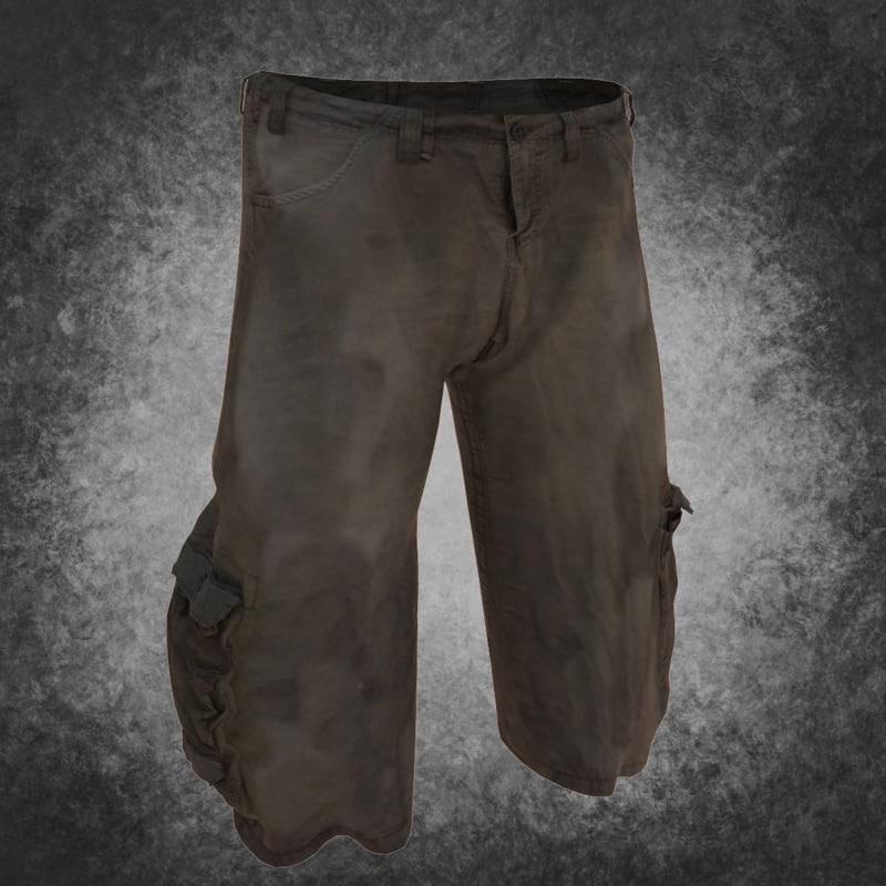 short pants 3d max