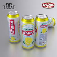 3d beer warka radler