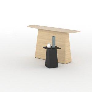 woodden table 3d model