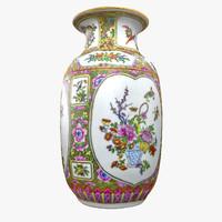 Ornamental Floral Vase