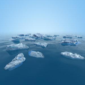 fragment ice 3d model