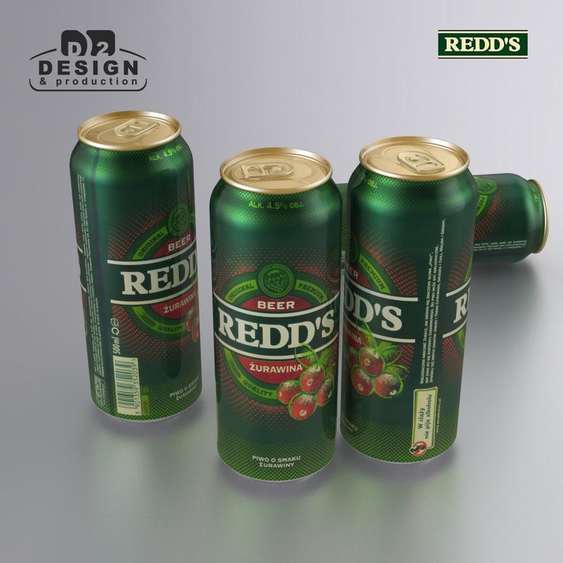 max beer redds cranberry
