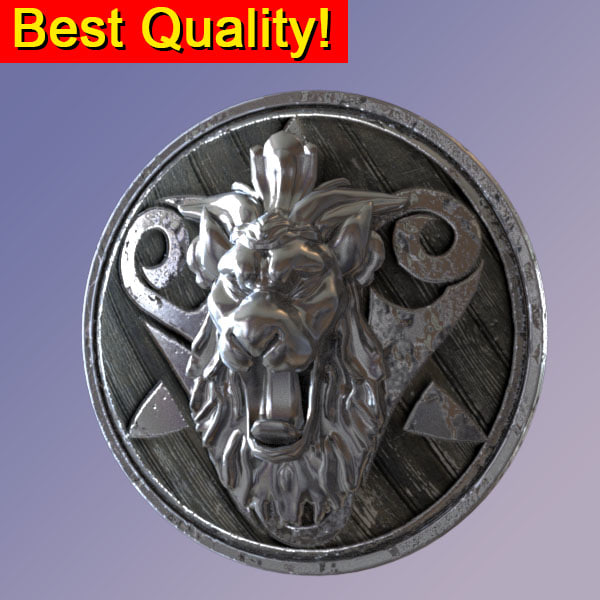 max ancient shield lion