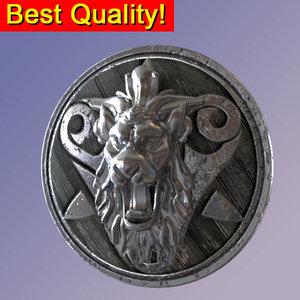 max ancient shield lion