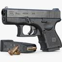 glock 26 3D models