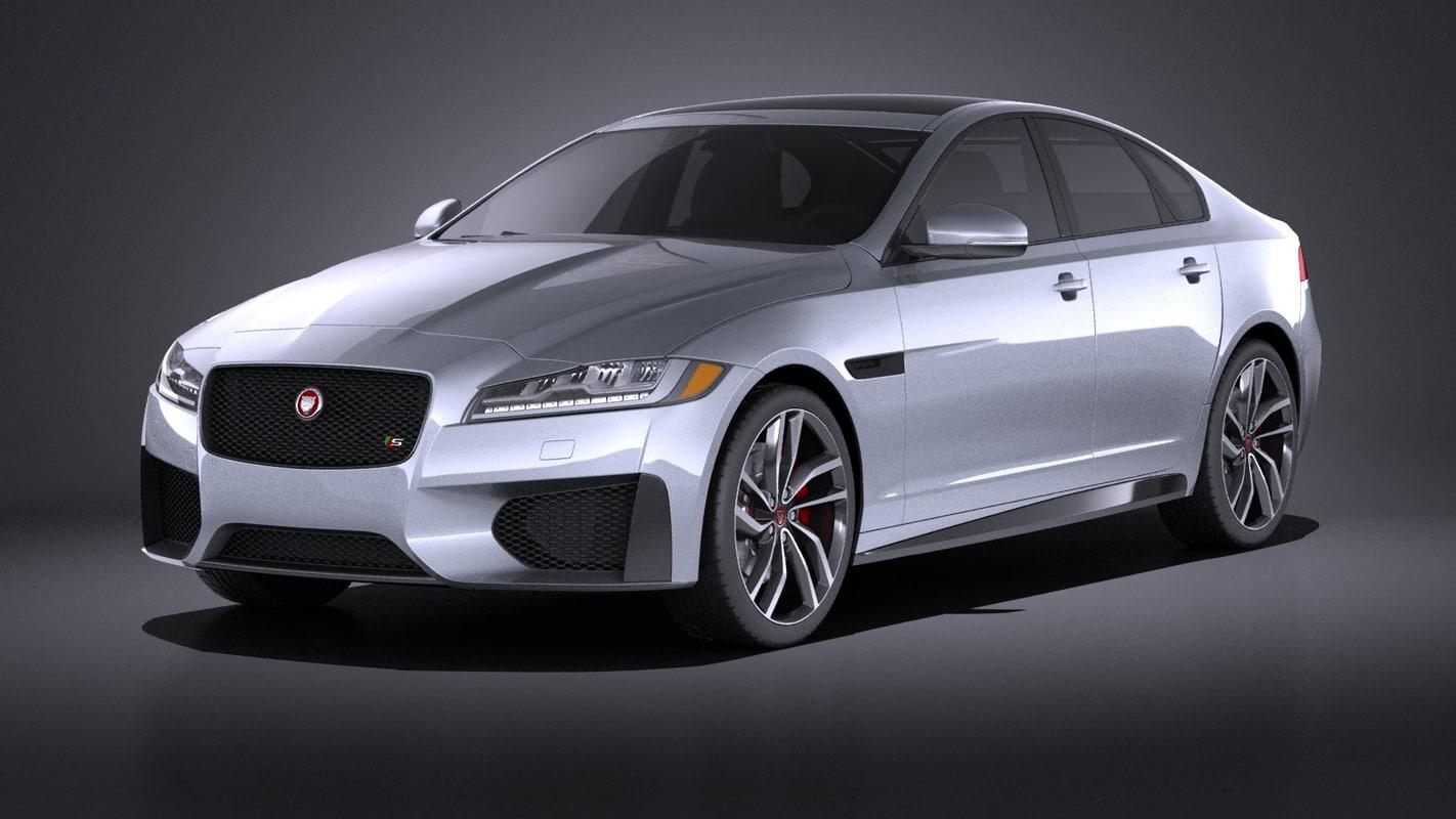 3d 2016 xf model