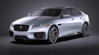 Jaguar XFS 2016 VRAY