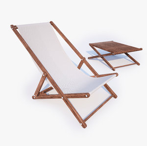 max sunbed chair table
