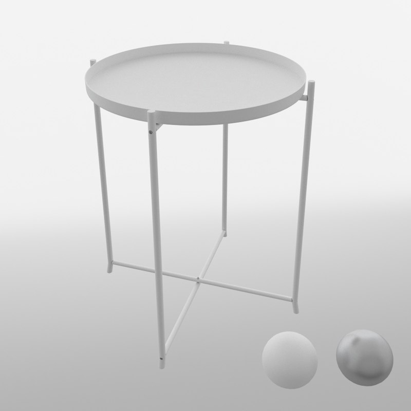 Ikea Gladom Table Max