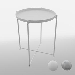 ikea gladom table max