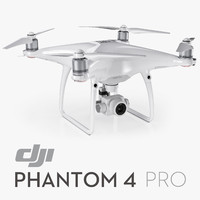 3d dji phantom 4 pro model