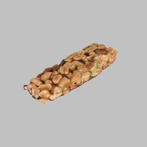bar nut 3d model