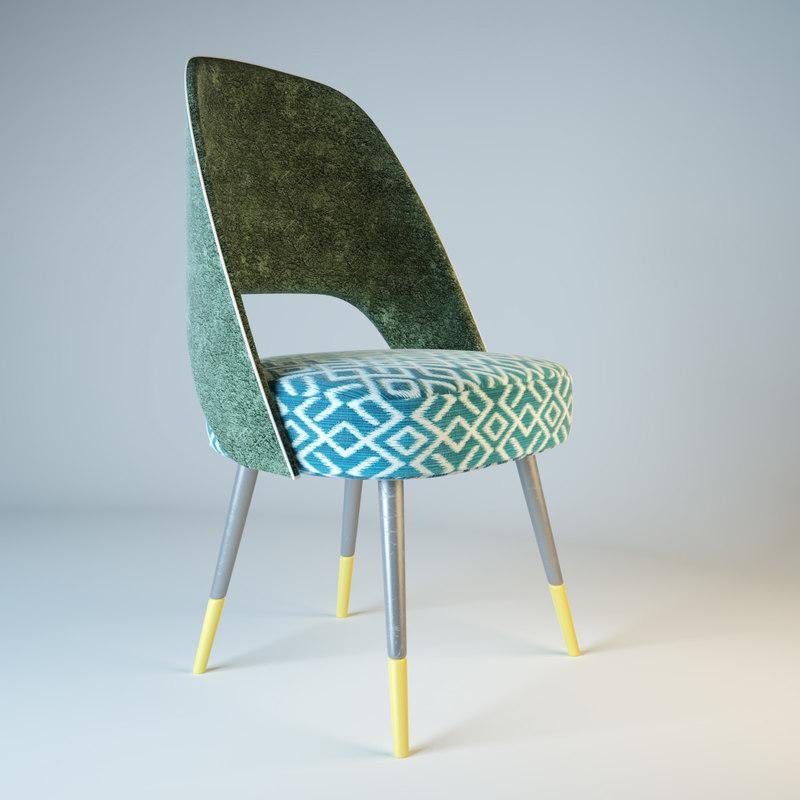 ava armchair 3d max