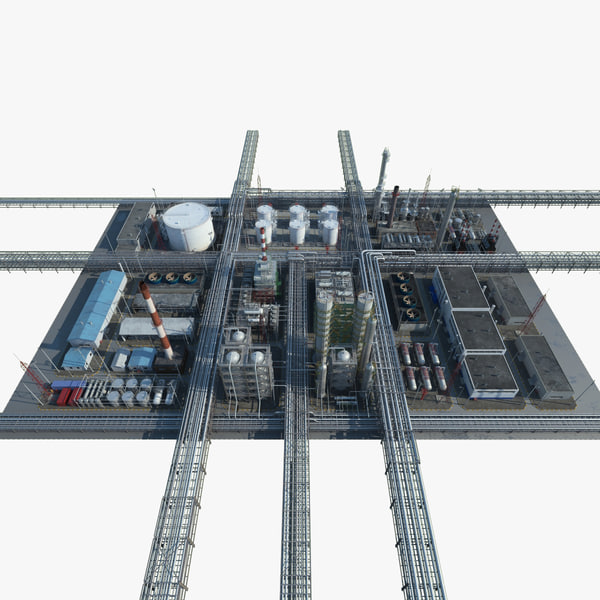 3d model refinery