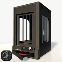 Makerbot Z18 3D printer low poly