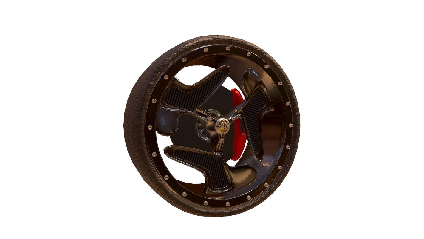 3d racing wheel