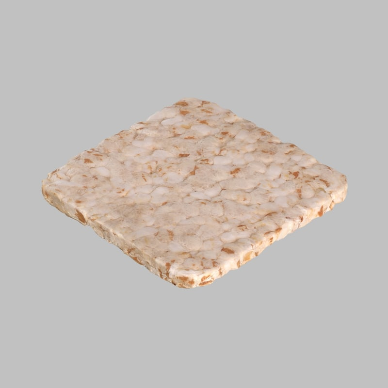 3d bread puffed