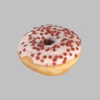 donut star christmas 3d max