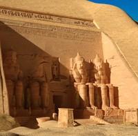 egypt abu simbel tomb 3d max