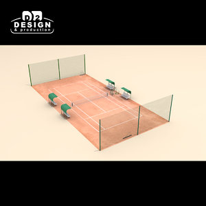 tennis court clay max