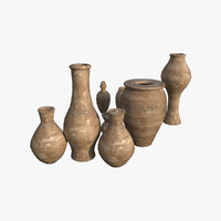 Vases Kit - Game Ready PBR