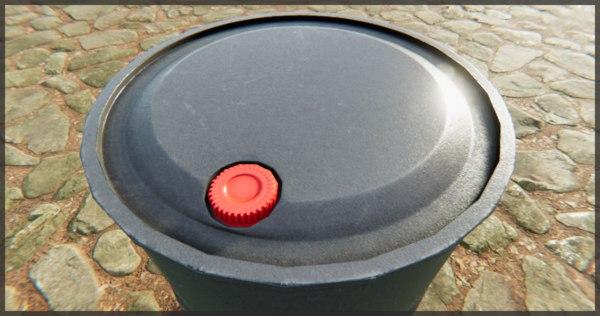 free fbx mode 4 barrels