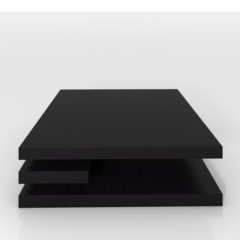 contempo ct square coffee table 3d 3ds