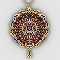 Necklace pendant-22
