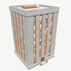 photorealistic building apartment 2 max