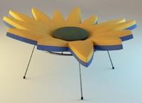 3d model of daisy 3