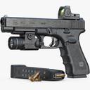 glock 34 3D models