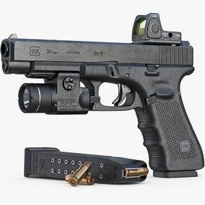 gun glock 34 gen max