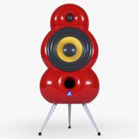 minipod speaker 3d model