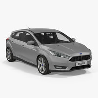 Ford Focus Hatchback 2015 Simple Interior