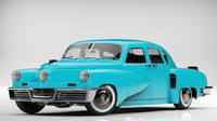 tucker torpedo 1948 3d model