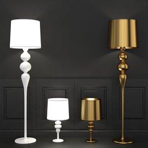 max schuller lena floor table lamp