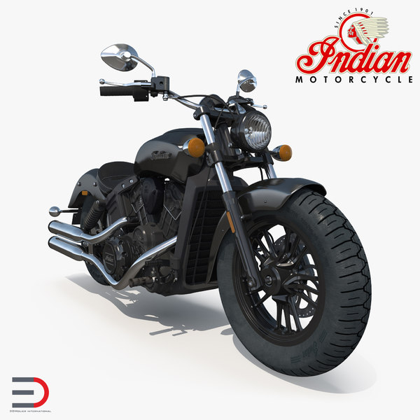 motorcycle indian scout 2016 3d max