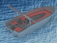 3d boat aluminium