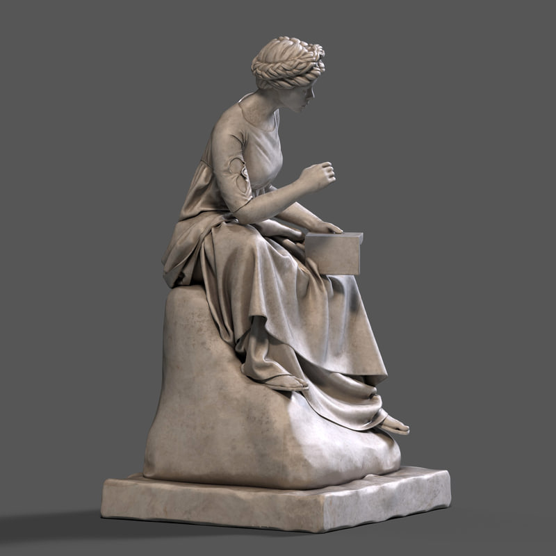 3d model of sculpture