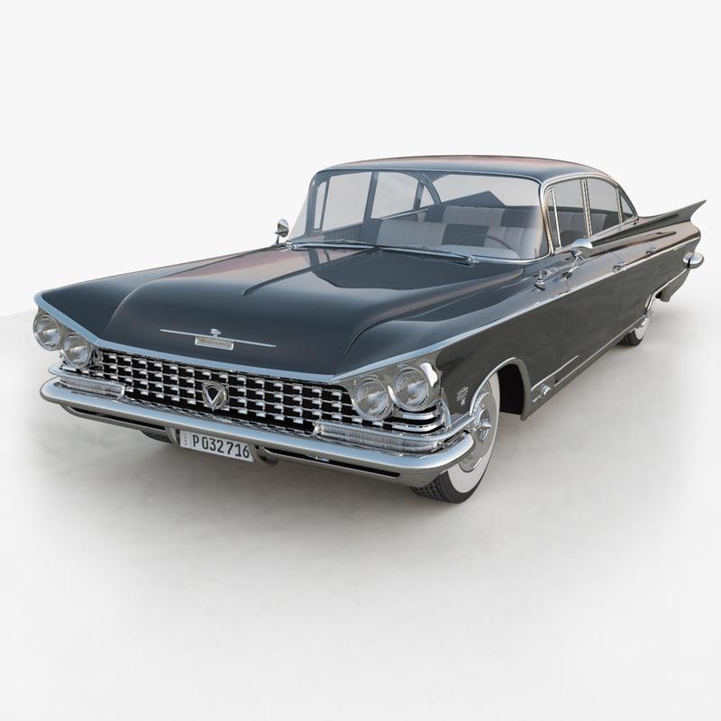 Buick Invicta 1959 3d Max