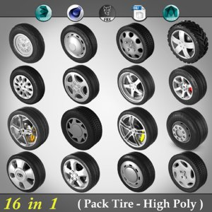 3ds pack tire -