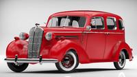 3d obj buick roadmaster 1936