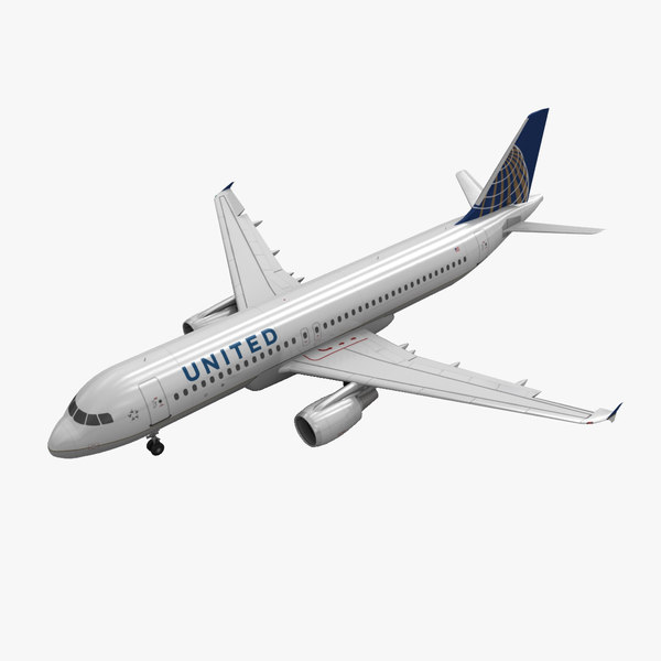 3ds airbus a320 united airlines