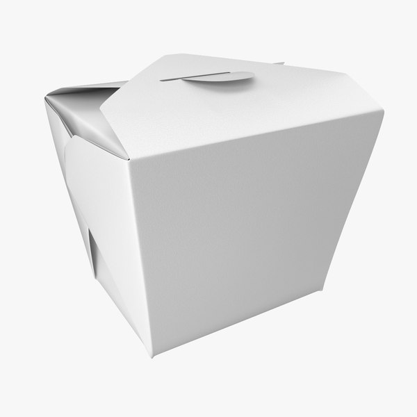 chinese food container 3d max
