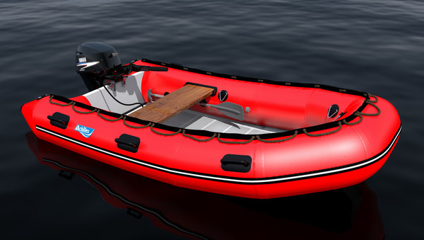 inflatable boat 3d 3ds