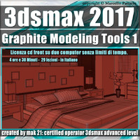 009 3ds max 2017 Modellazione Interni v.9.0 Italiano cd front