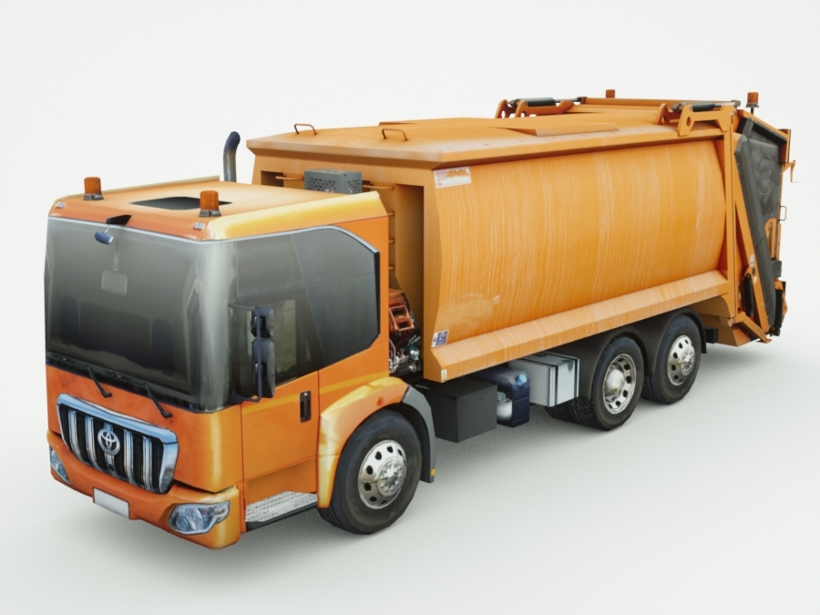 3d model of 2016 toyota garbage concept